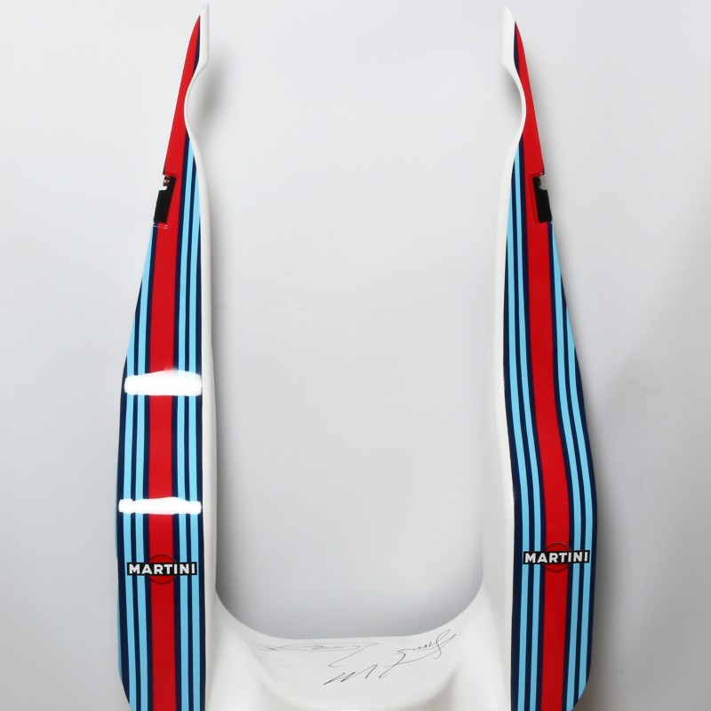 Lance Stroll's Williams Formula One FW41 Signed Headrest