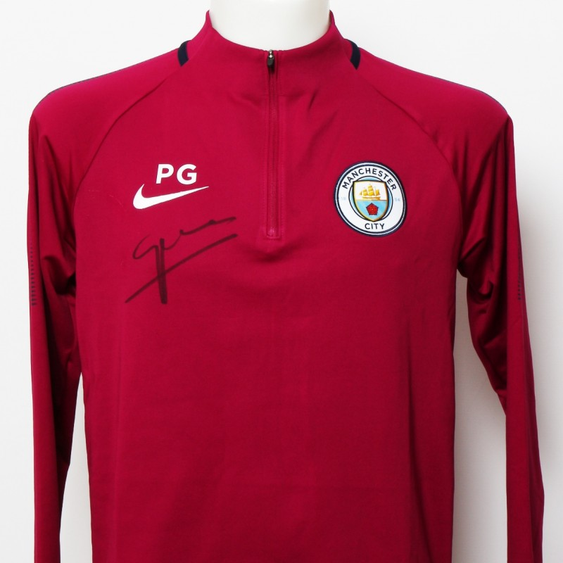 Pep Guardiola 2017|18 Staff-Issued Training Top and Trainers