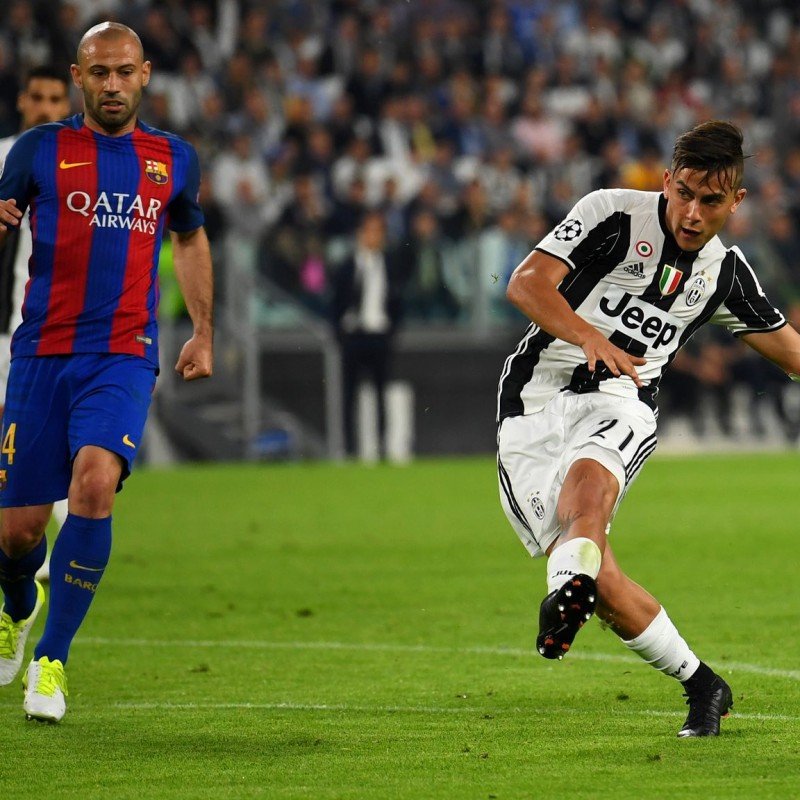 Dybala Juventus Issued Shirt, 2016/17 CL - Signed
