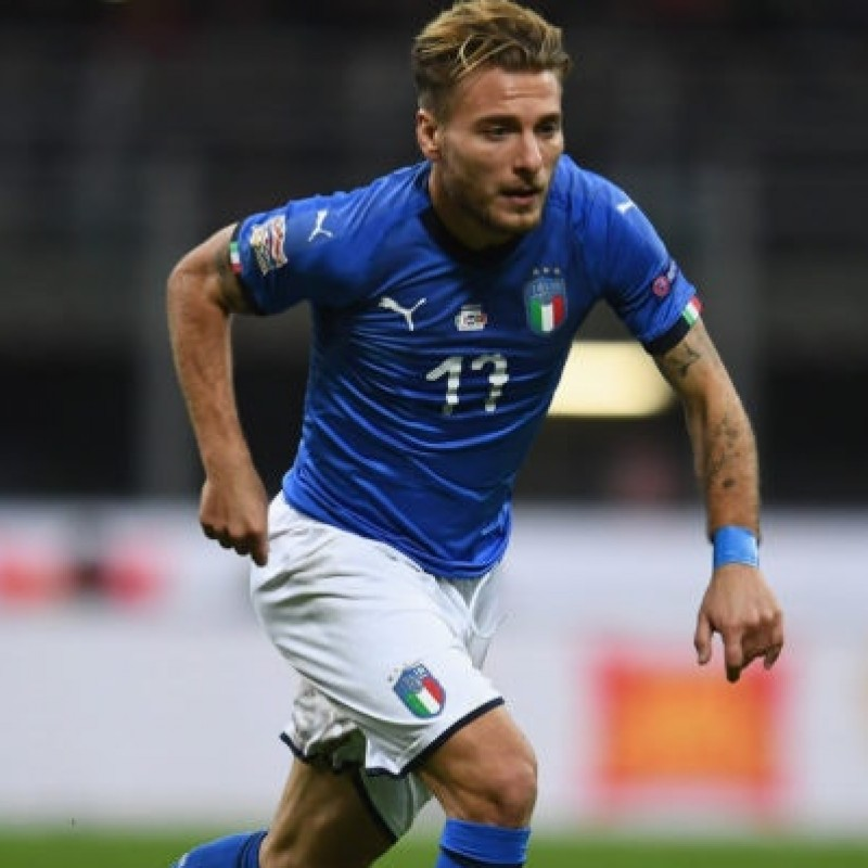 Immobile's Official Italy Signed Shirt, 2017