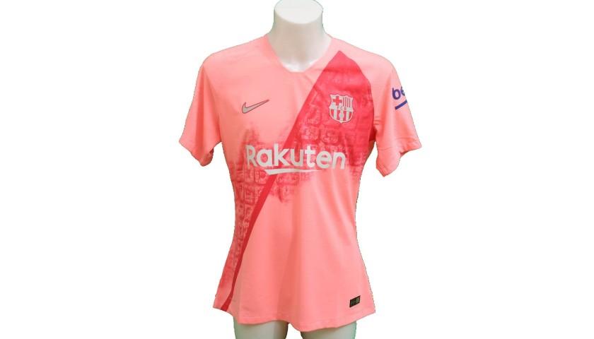 the best attitude 88149 10da6 Messi's Barcelona Match-Issue/Worn Shirt, 2018/19 - CharityStars