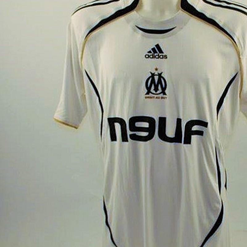 Match worn Carrasso Marsiglia shirt, worn Ligue 1 2007/2008