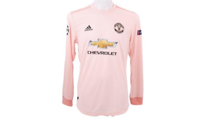 Rashford's Match-Issue Shirt, PSG-Manchester United 2019