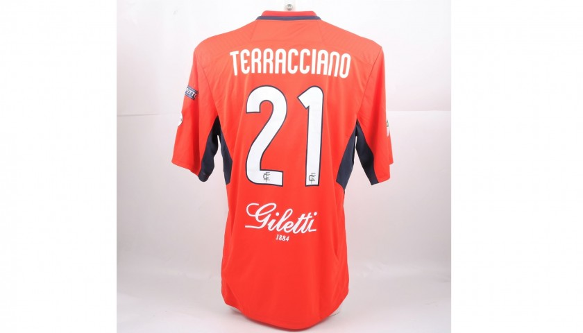 Terracciano's Match-Issued Shirt from Empoli-Ascoli with a Special #AiutiamoLI Patch