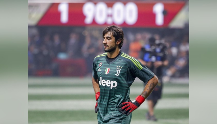 Perin's Official Juventus Signed Shirt, 2018/19
