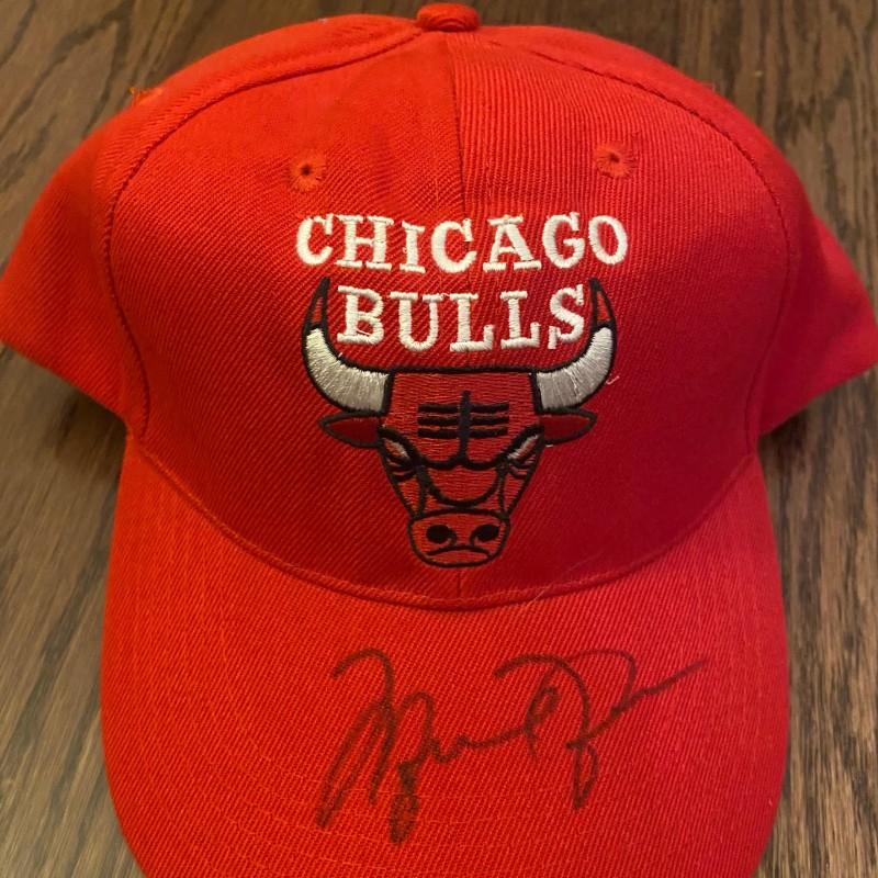Michael Jordan Signed Chicago Bulls Baseball Cap
