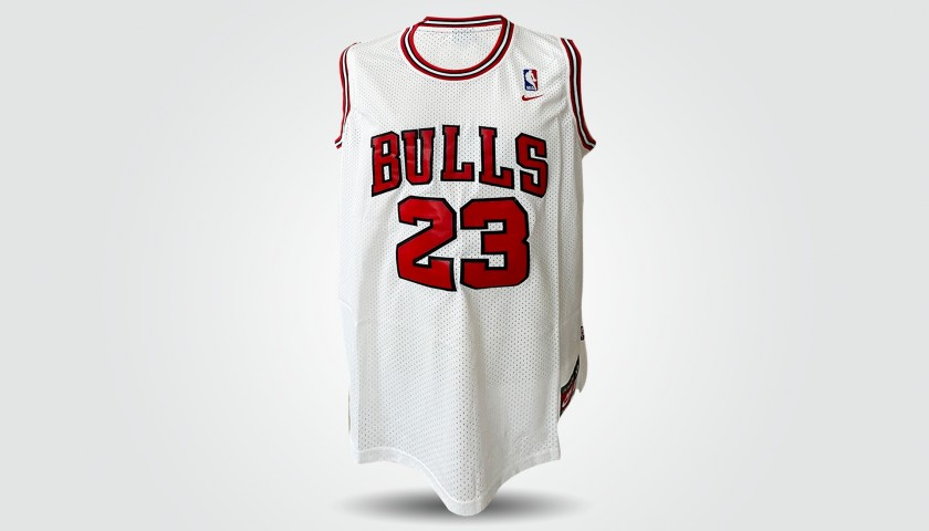 Official Chicago Bulls Jersey - Signed by Jordan and Kobe