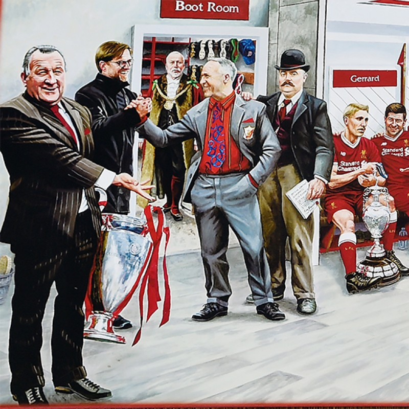 Liverpool FC Dream Scene Canvas