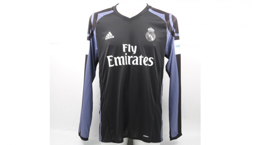 promo code 85d24 8bcb9 Ronaldo's Match-Issued/Worn Real Madrid Shirt, 2016 FIFA World Cup -  CharityStars