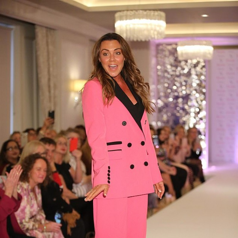 Pink Suit Worn by Michelle Heaton