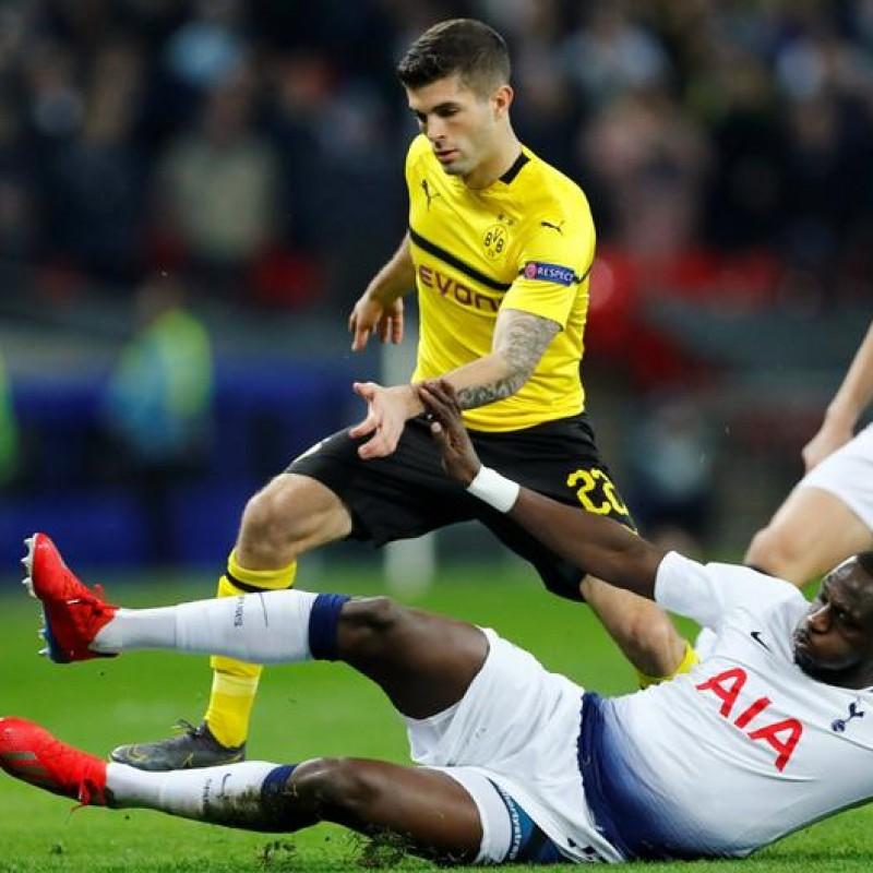 Pulisic's Match Shirt, Borussia Dortmund-Tottenham 2019