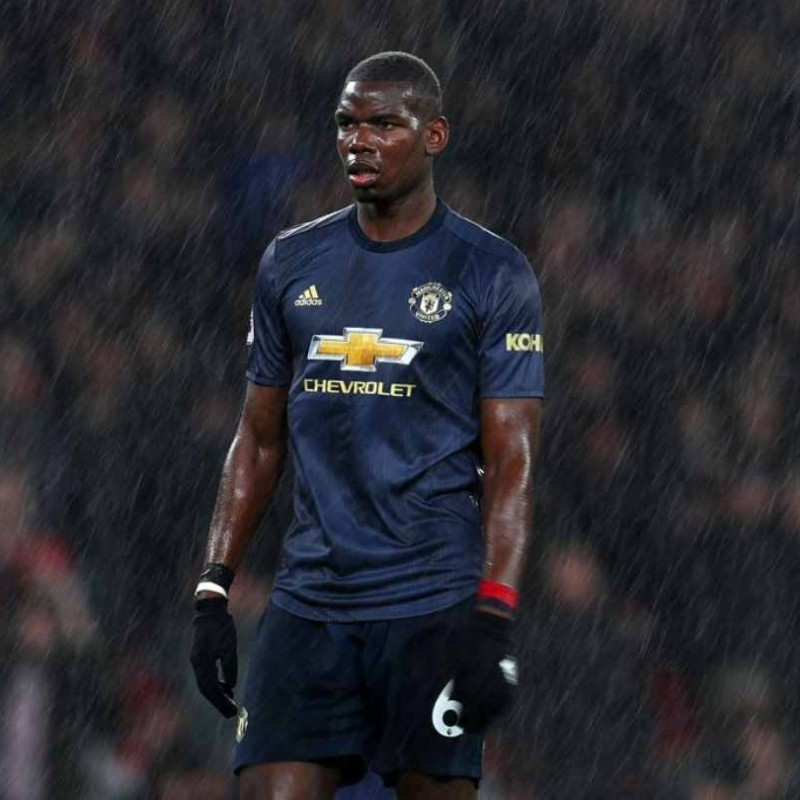 Pogba's Official Manchester United Signed Shirt, 2018/19