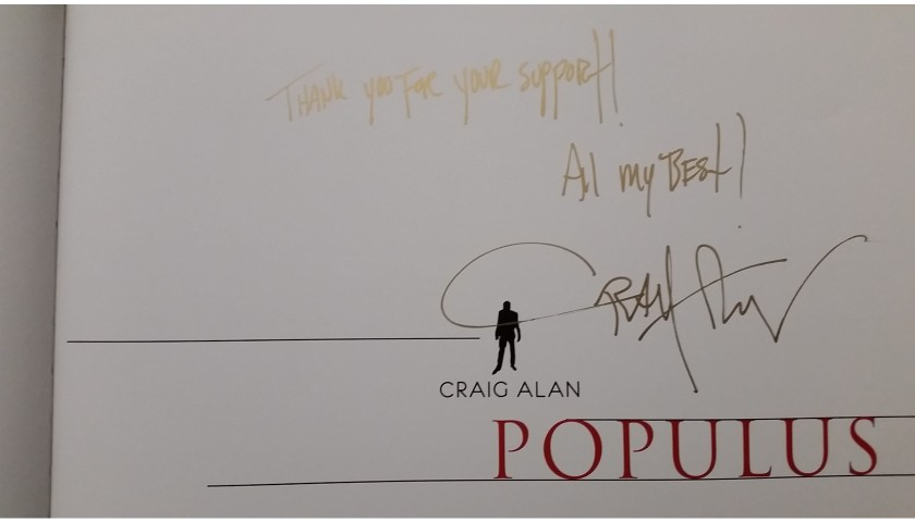 Dream Big by Craig Alan + Autographed Populus Book