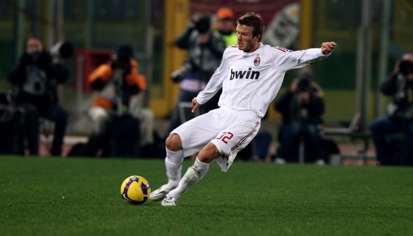 Maglia Ufficiale Beckham Milan, 2009/10 - Autografata