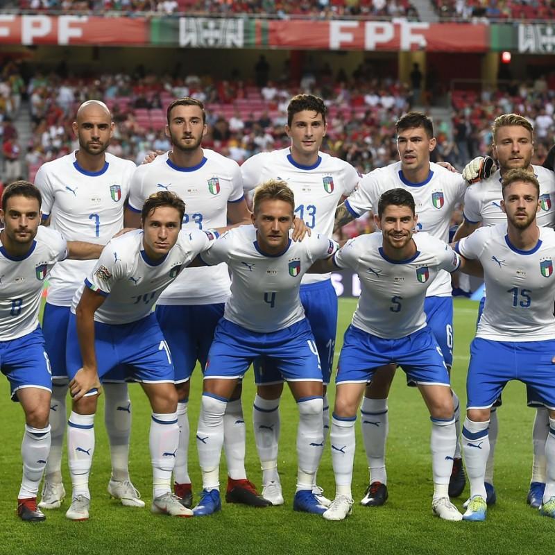 Bonucci's Match Shirt, Portugal-Italy 2018