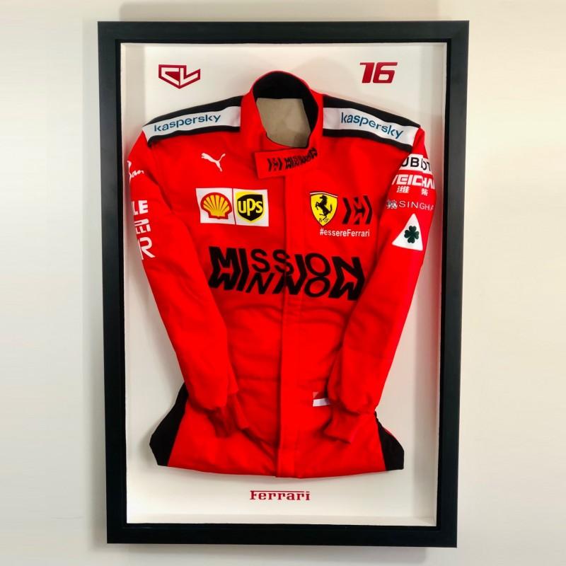 Charles Leclerc Replica Ferrari Race Suit