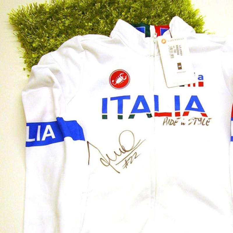 Italy training olympic Fontana shirt, Londra 2012 - signed