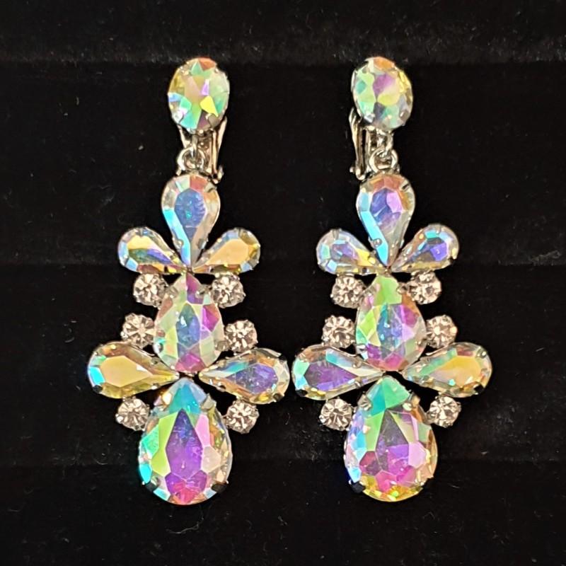Orecchini cristallo di Crystal Couture