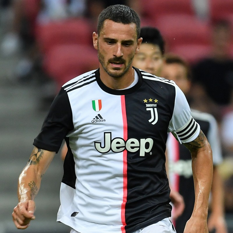 Bonucci's Official Juventus 201920 Signed Shirt