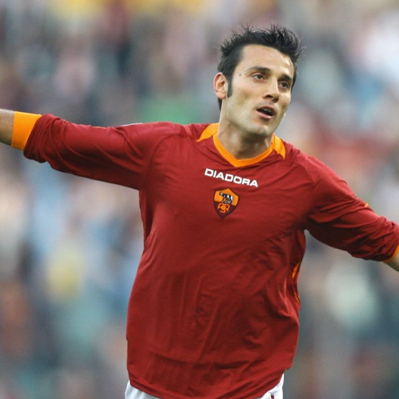 Montella's Roma Worn and Signed Shirt, UCL 2006/07