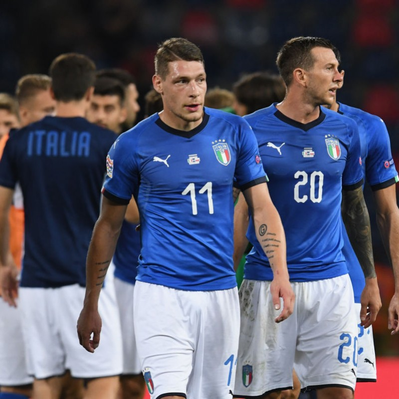 Belotti's Match Shirt, Italy-Poland 2018