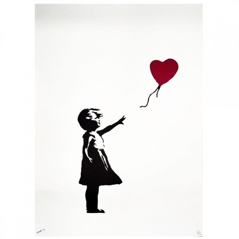"""""""Balloon Girl"""" - Litografia Offset Grafiart Uk di Banksy"""