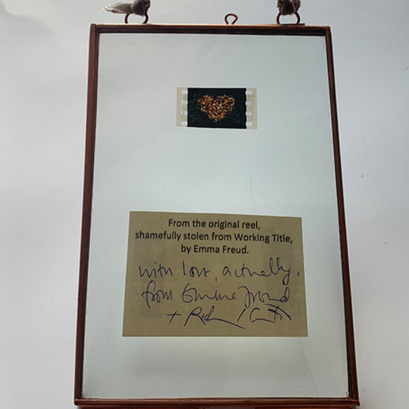 Signed 35mm Film Cell From Love Actually