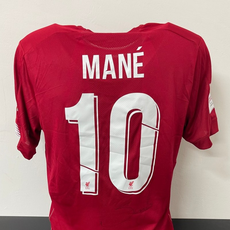 Mane's Official Liverpool Signed Shirt, FIFA Club World Cup 2019
