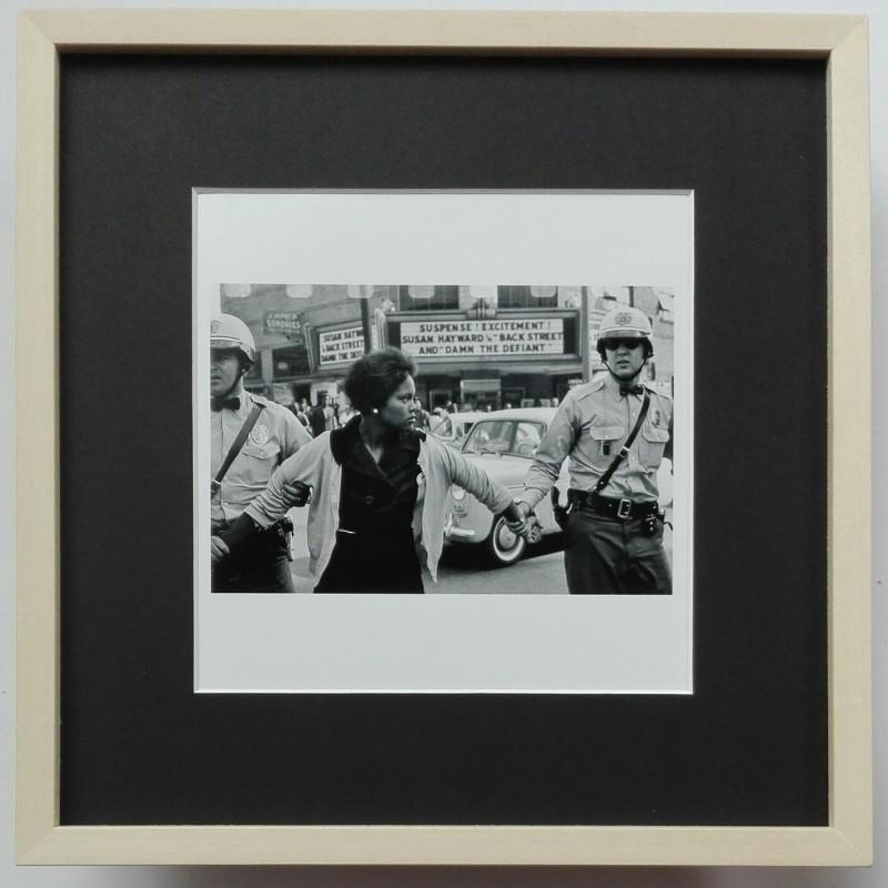"""Birmingham Protests"" - Photograph by Bruce Davidson"
