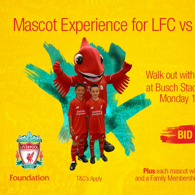 Mascot Experience for LFC vs AS Roma in St Louis, USA