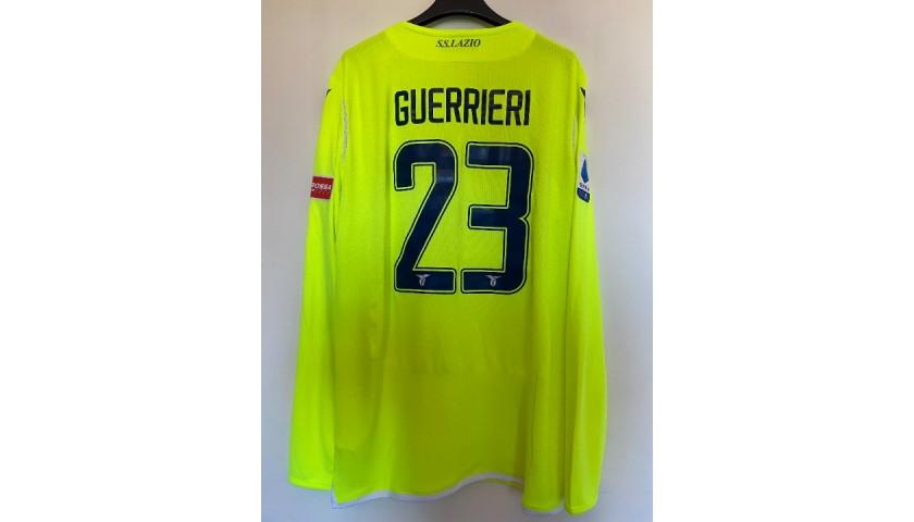 Guerrieri's Lazio Match Shirt, 2019/20 - CharityStars