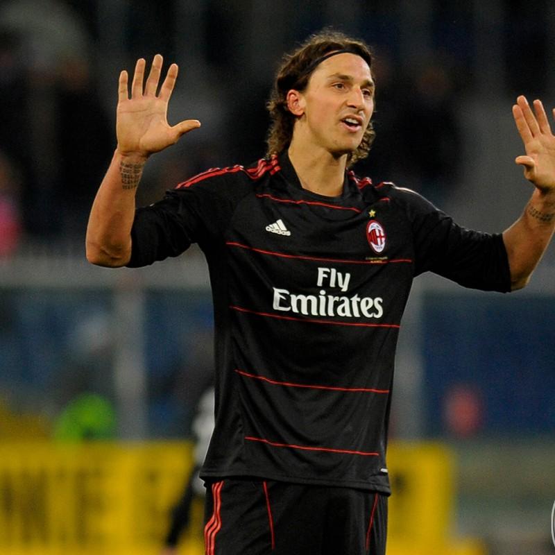 Ibrahimovic saat masih berseragam AC Milan