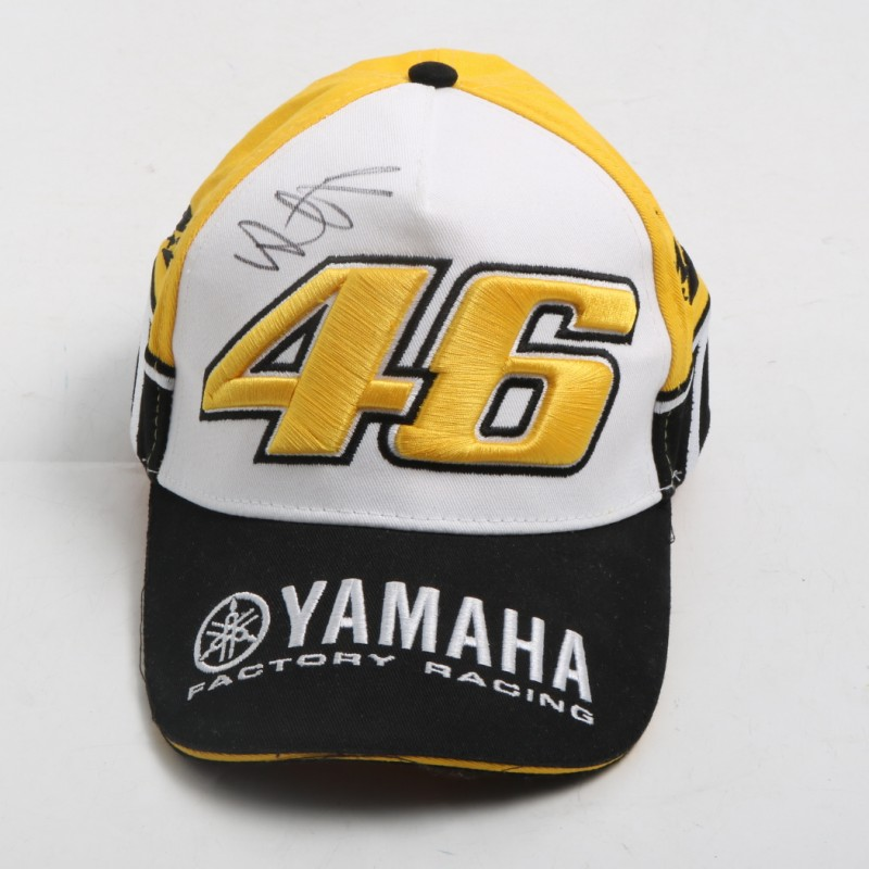 Official Yamaha Cap Signed by Valentino Rossi