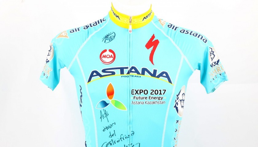 Fabio Aru Official Signed Shirt