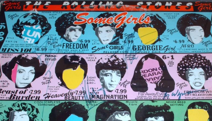 Signed Rolling Stones 'Some Girls' Album