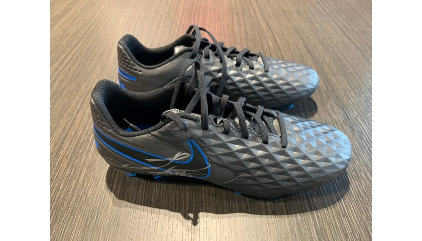 Nike Legend Boots - Signed by Sergio Ramos