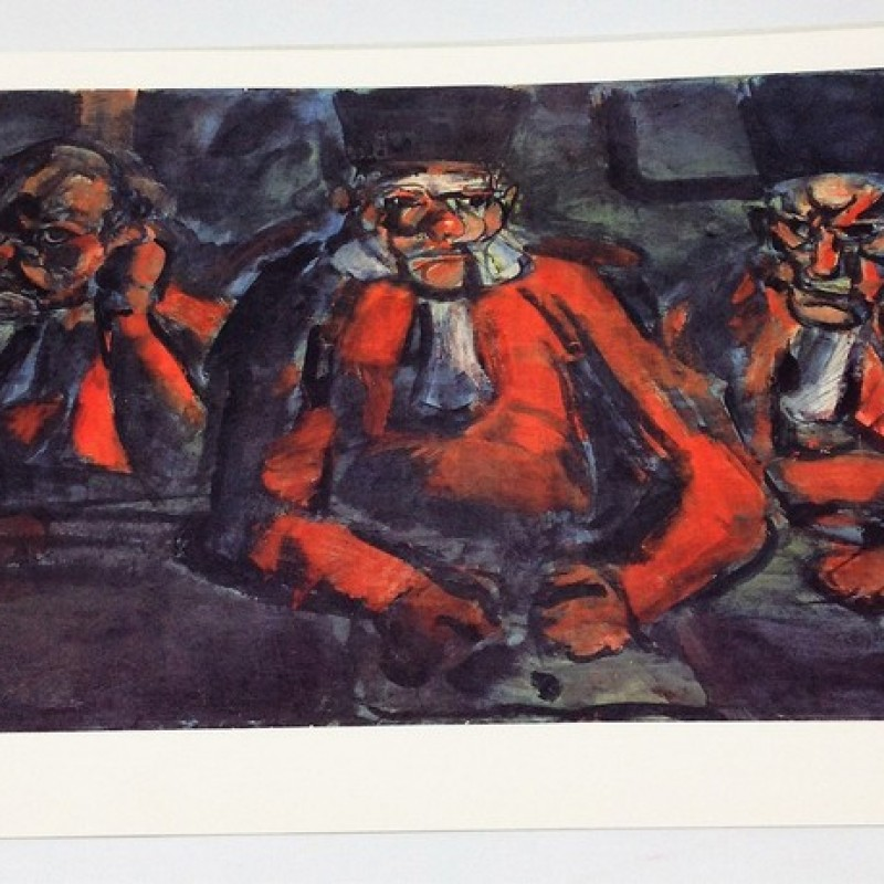"""""""Giudici"""" Limited Edition Print by Georges Rouault"""