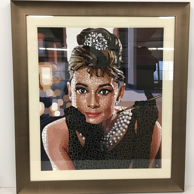 """Audrey Hepburn  """"Breakfast at Tiffany's"""" by Paul Normansell"""