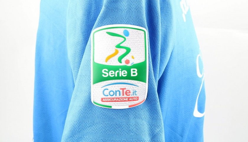 Traore's Match-Issued Shirt from Empoli-Ascoli with a Special #AiutiamoLI Patch