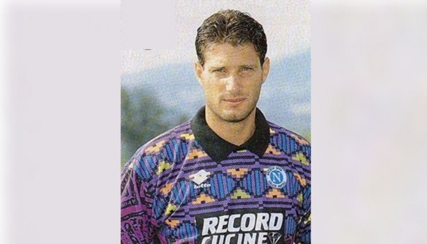 Taglialatela's Napoli Worn Shirt, 1994/95 Season