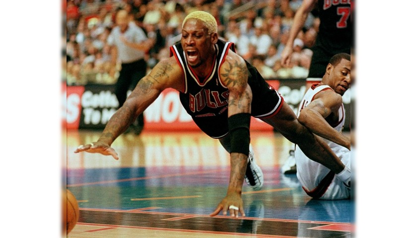 Rodman's Official Chicago Bulls Signed Jersey