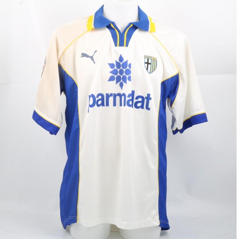 Giunti's Match-Worn Parma Shirt, 1997/98 Serie A