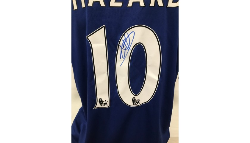 Hazard's Official Chelsea Signed Shirt, 2017/18