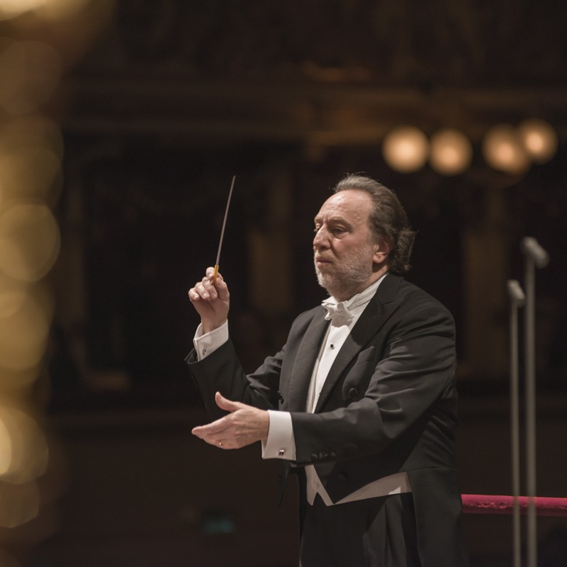 2 Tickets to Filarmonica della Scala Concert Conducted by Maestro Riccardo Chailly