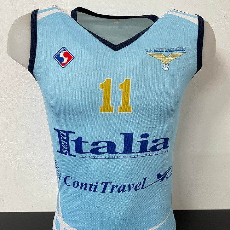 Lazio Volleyball Match Shirt