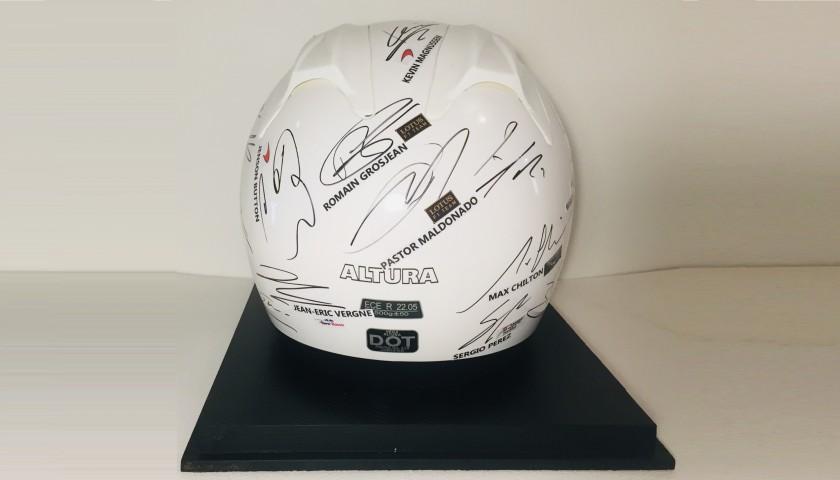 2014 Signed Grid Helmet