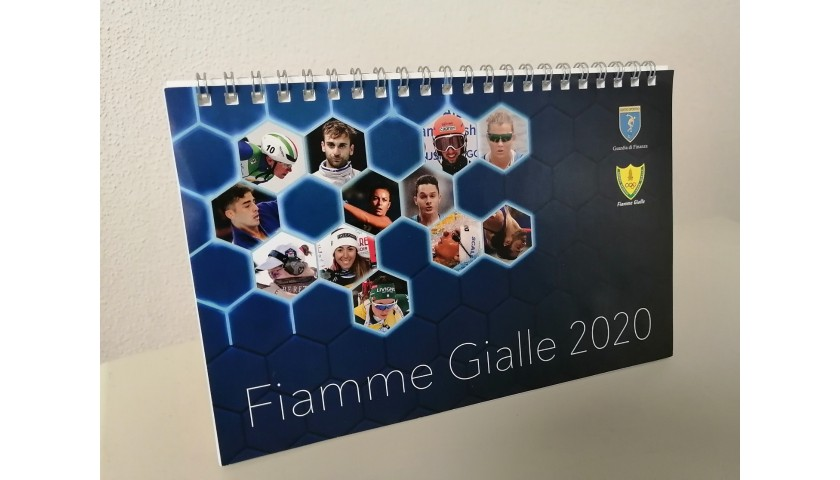 Fiamme Gialle 2020 Calendar - Signed by the Athletes