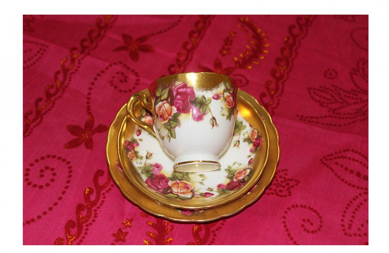 China Cup and Saucer, Set 4