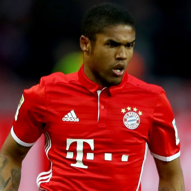 Douglas Costa's Official Bayern Munich 2016/17 Season Signed Shirt