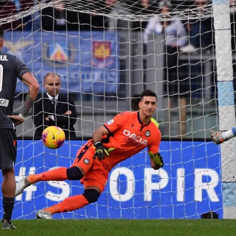 Musso's Worn Shirt, Lazio-Udinese 2019